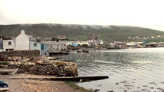 Scalloway city
