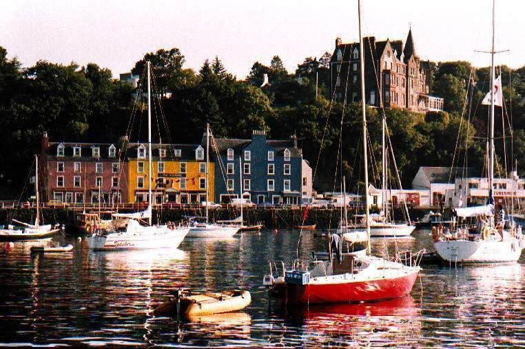 The lovely village of Tobermory